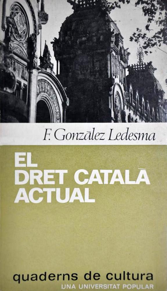 el dret català actual